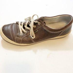Josef Seibel Caspian Sneaker brown leather  sz 39